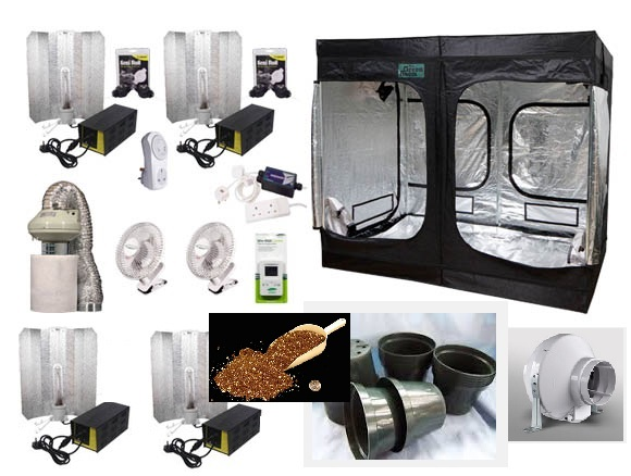 3m x 3m Pro-Mix Grow Tent Combo (The Monster)  sc 1 st  Hydro Herb Africa & 3m x 3m Pro-Mix Grow Tent Combo (The Monster) - Hydro Herb Africa
